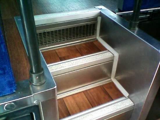 Wood Flooring On Steps